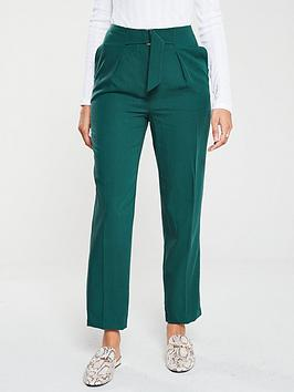 v-by-very-tapered-leg-trouser-green