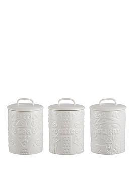Mason Cash Mason Cash In The Forest Tea, Coffee And Sugar Storage Jars Picture