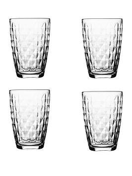 Ravenhead Essentials Jewel Hi-Ball Tumbler Glasses &Ndash; Set Of 4