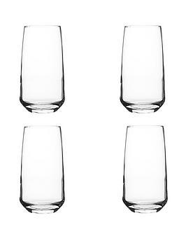 Ravenhead Ravenhead Majestic Set Of 4 Hi-Ball Tumbler Glasses Picture