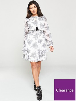 v-by-very-shirred-waist-ruffle-sleeve-dress-paisley