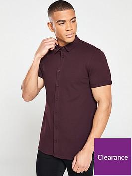 river-island-button-through-pique-shirt