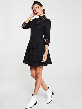 v-by-very-crochet-lace-tunic-black
