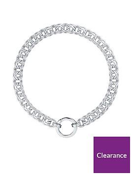 karen-millen-hoop-chain-o-ring-necklace--nbspwhite