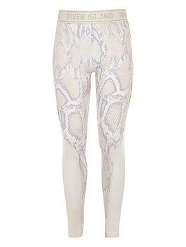 river-island-girls-ri-active-snake-print-leggings-white