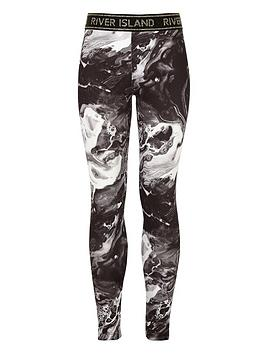 river-island-girls-ri-active-marble-leggings-black