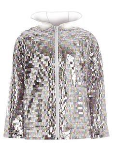 river-island-girls-sequin-embellished-rain-mac-silver