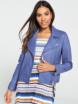 boss-leather-biker-jacket-blue