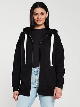v-by-very-the-essential-oversized-zip-through-hoodienbsp--black