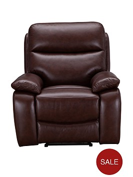 hasting-real-leatherfaux-leather-manual-recliner-armchair