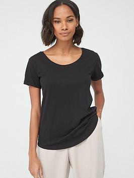 v-by-very-the-essential-scoop-neck-top-black