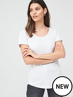 v-by-very-basic-scoop-neck-t-shirt-grey