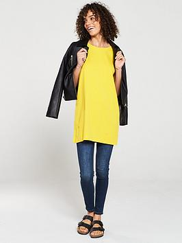 V by Very V By Very The Essential Three Quarter Sleeve Longline Top -  ... Picture