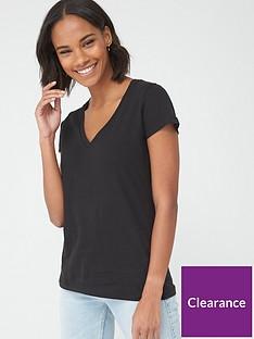 v-by-very-the-essential-v-neck-t-shirt-black