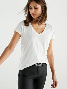 v-by-very-the-essential-v-neck-t-shirt-ivory