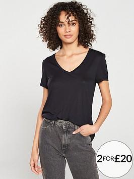 v-by-very-the-essential-v-neck-top-black