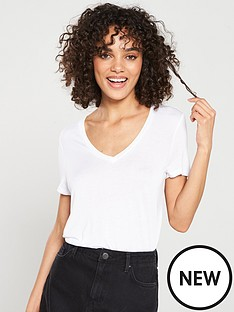 v-by-very-the-essential-v-neck-top-white