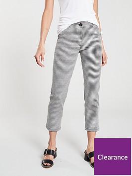 v-by-very-gingham-slim-leg-pant-black-white