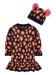 v-by-very-girls-animal-knitted-dress-with-pom-pom-hat-multi