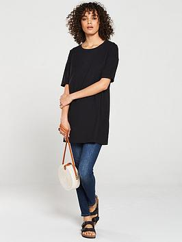 V by Very V By Very The Essential Three Quarter Sleeve Tunic - Black Picture