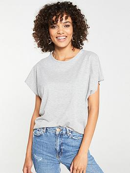 V by Very V By Very The Essential Round Neck T-Shirt - Grey Picture