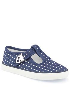 start-rite-jitterbug-navy-canvas-plimsoll