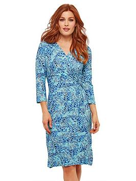 Joe Browns Joe Browns Midnight Sprigs Dress Picture