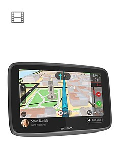 tomtom-go-professional-6200-hgvnbspsat-navnbspwith-wi-fi-sirigoogle-now-integration-sim-card-europe-map