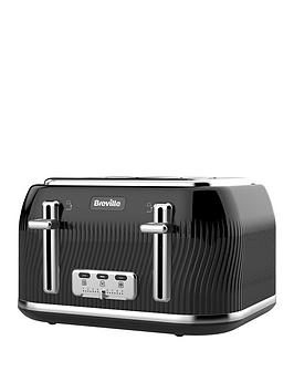 Breville Breville Flow 4 Slice Toaster Black Picture
