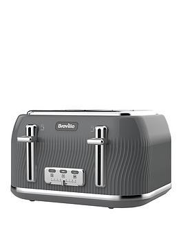 Breville Breville Flow 4 Slice Toaster Storm Grey Picture