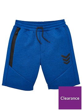 v-by-very-boys-tech-contrast-zip-jog-shorts-blue