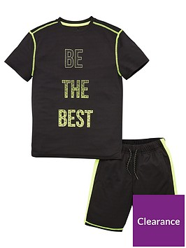 v-by-very-boys-be-the-best-top-and-shorts-set-blacklime