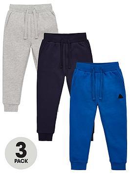 v-by-very-boys-3-pack-joggers--nbspgreybluenavy
