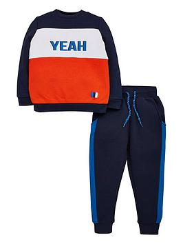 v-by-very-boys-2-piece-yeah-colour-block-sweat-top-and-joggers-outfit-navyred