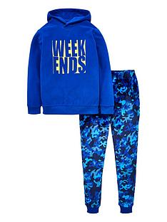 v-by-very-boys-weekends-camo-pj-set-blue