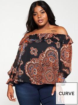 v-by-very-curve-bardot-ruffle-blouse-paisley