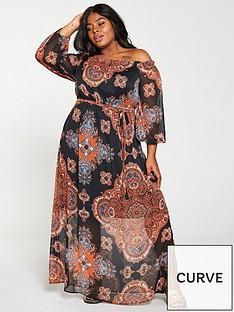 v-by-very-curve-bardot-maxi-dress--nbsppaisley-printnbsp