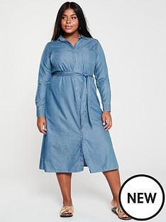 v-by-very-curve-denim-look-midi-shirt-dress-dark-wash