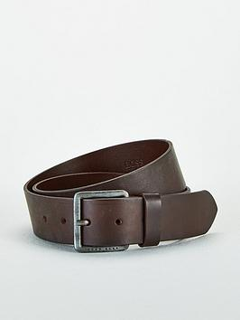 Boss Boss Jeeko Smooth Leather Belt - Dark Brown Picture