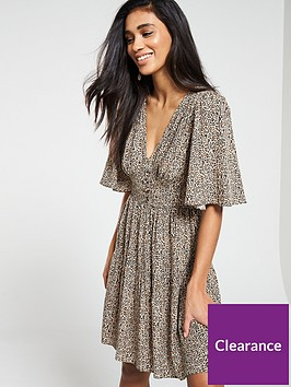 v-by-very-button-waist-tea-dress