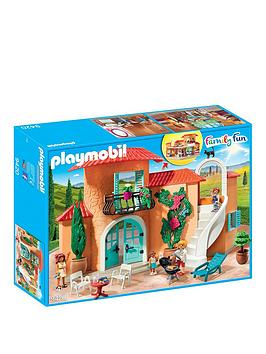 PLAYMOBIL Playmobil Playmobil 9420 Family Fun Summer Villa With Balcony Picture