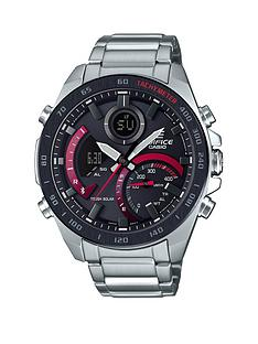 casio-casio-edifice-black-and-red-detail-chronograph-solar-and-bluetooth-stainless-steel-bracelet-mens-watch