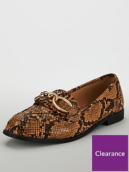 v-by-very-malabo-hardware-detail-loafers-snake
