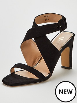 v-by-very-grand-mid-soft-knot-back-sandals-black