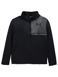 under-armour-raid-14-zip-long-sleeve-top-black