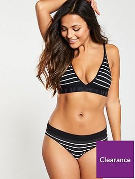 dkny-seamless-litewear-solid-bikini-briefs-blackwhite