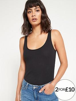 v-by-very-the-essential-tall-rib-vest-black