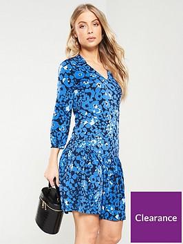 v-by-very-collar-frill-dress-blue