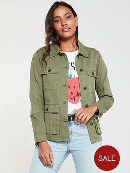 v-by-very-pocket-detail-utility-jacketnbsp--khaki