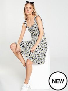 75ced3151419 V by Very Ruffle Strap Mini Dress